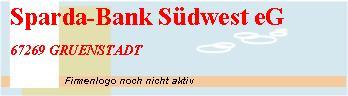 Sparda bank s dwest eg gruenstadt for Offnungszeiten sparda bank